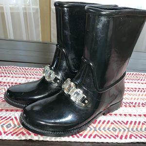 Michael Kors rain boots size 7